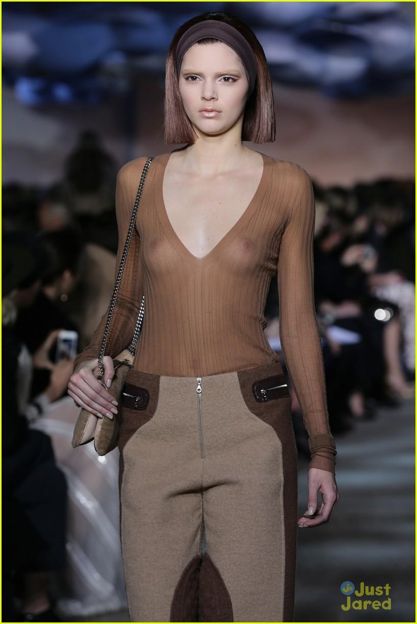 sheer top jenner Kendall