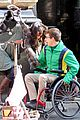 kevin mchale wheelchair crash glee scenes 15