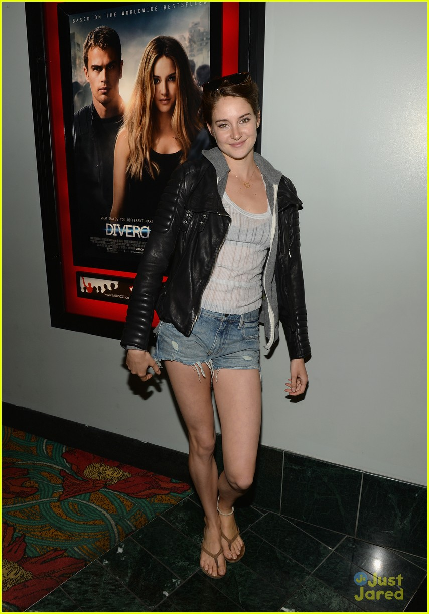 Shailene woodley and theo james dating confirmed