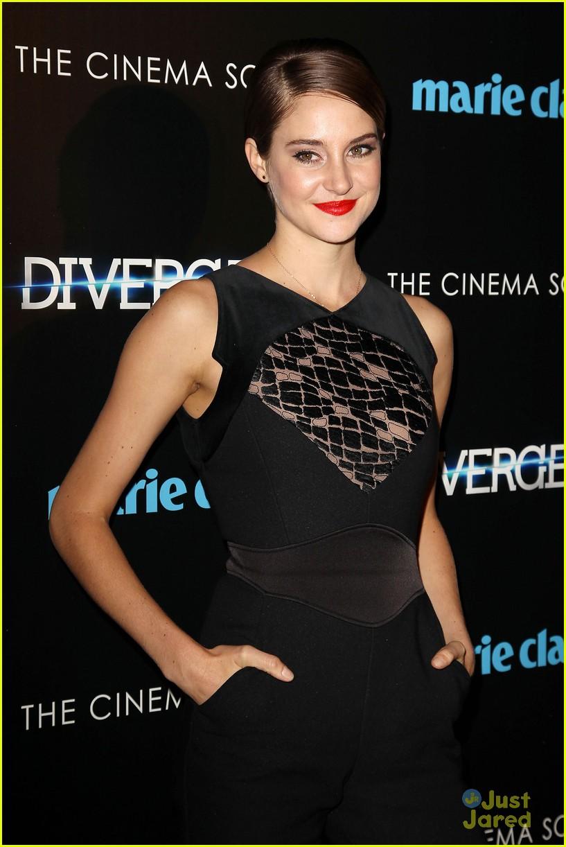"Shailene Woodley and Theo James Photos Photos - ""Divergent ...  Shailene Woodley And Theo James Divergent Premiere"