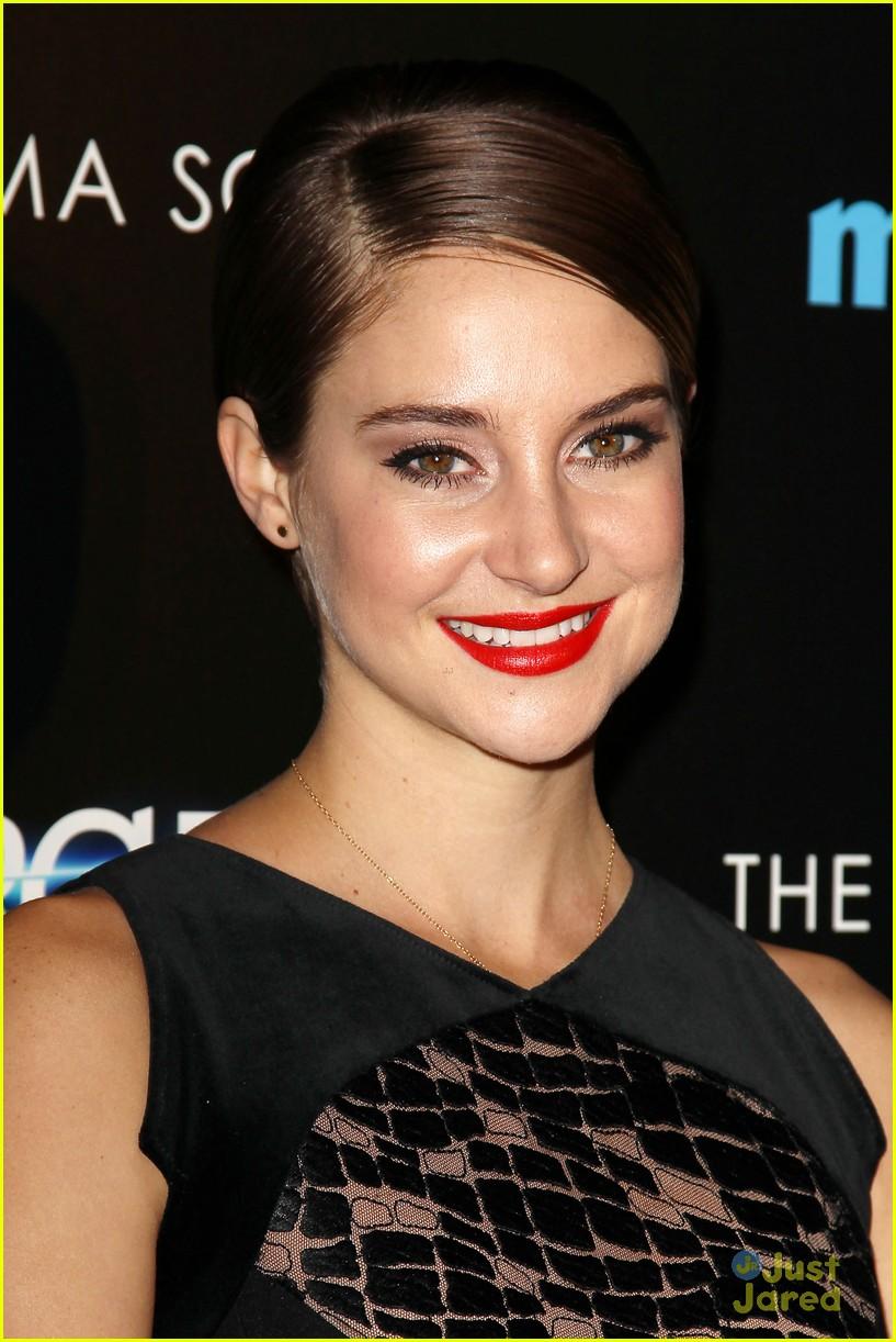'Divergent' Stars Shailene Woodley-Theo James Dating ...  Shailene Woodley And Theo James Divergent Premiere