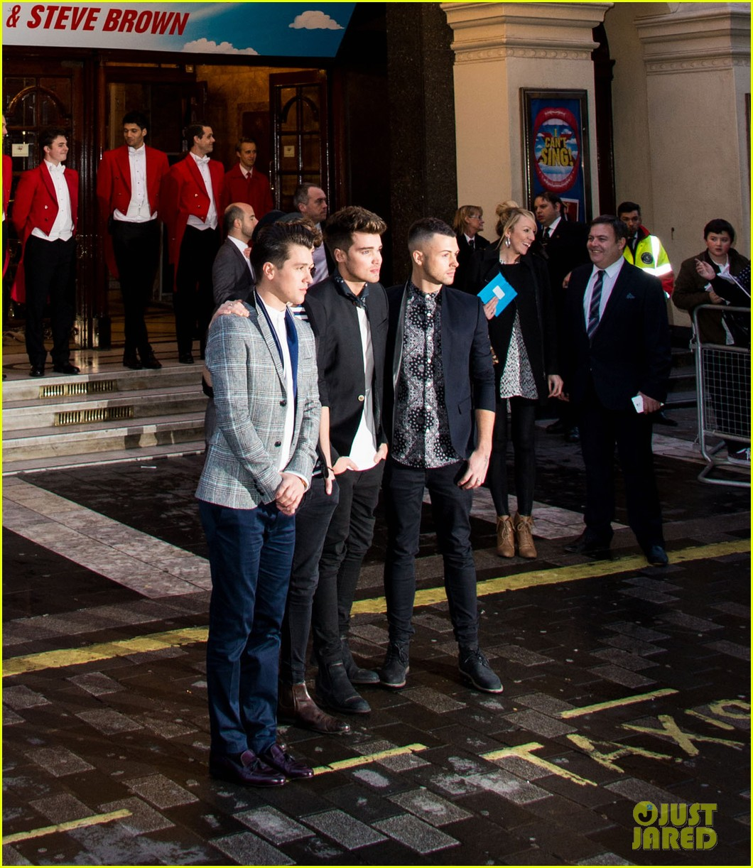 union j show their support for x factor musical i cant sing 09