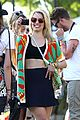 dianna agron tribal camera coachella 02