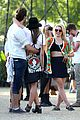 dianna agron tribal camera coachella 14