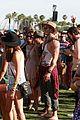 ashley greene paul khoury kellan lutz hang out at coachella41