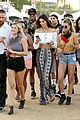 kendall and kylie jenner on an accesory hunt at coachella 201414