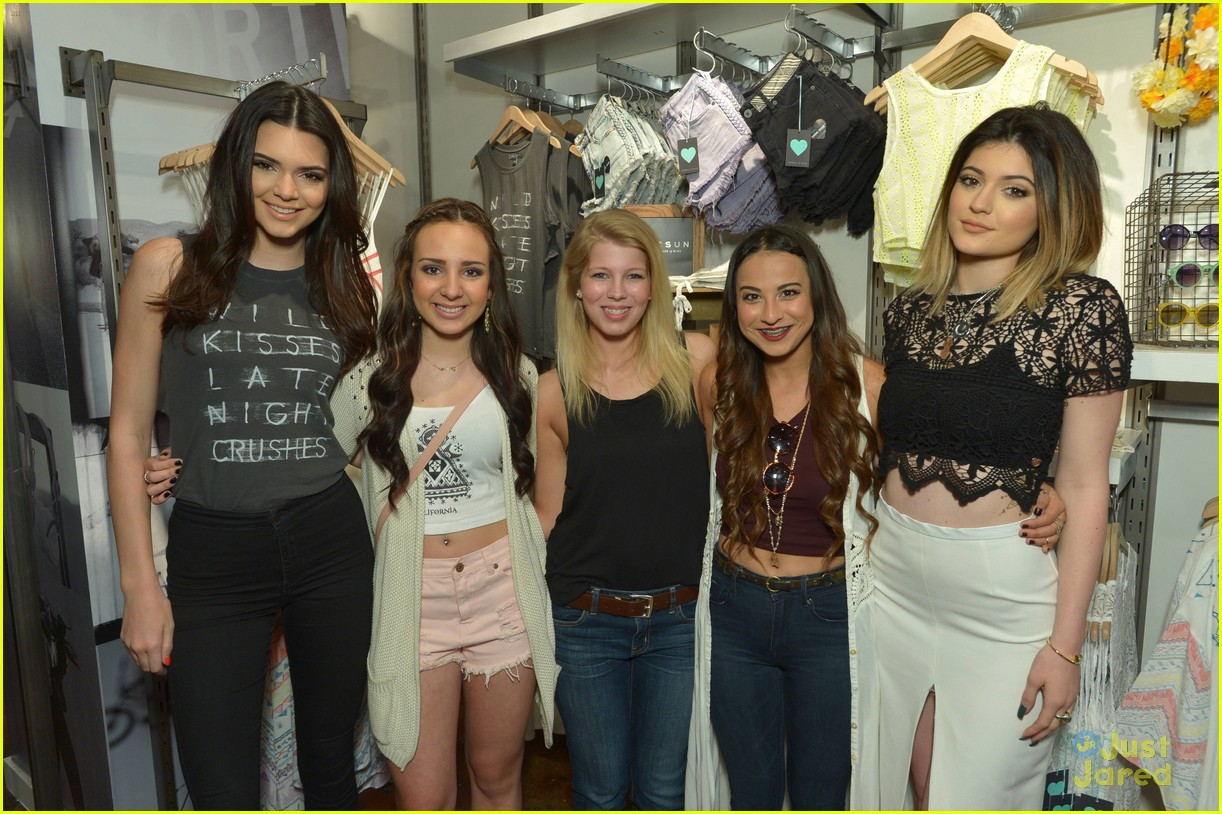 kendall and kylie meet greet new york