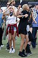 kendall and kylie jenner hang out with jaden and willow smith at coachella09