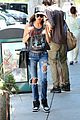 naya rivera larchmont coffee run 02