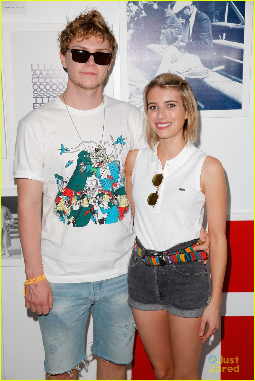emma roberts and evan peters hold hands at coachella 201407