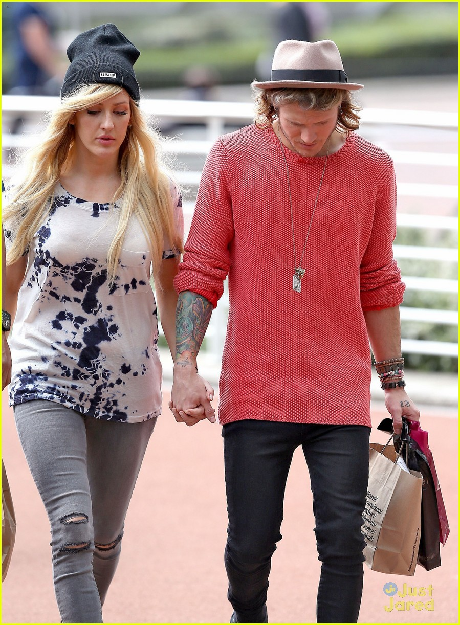 ellie goulding dougie poynter major pda shopping 09