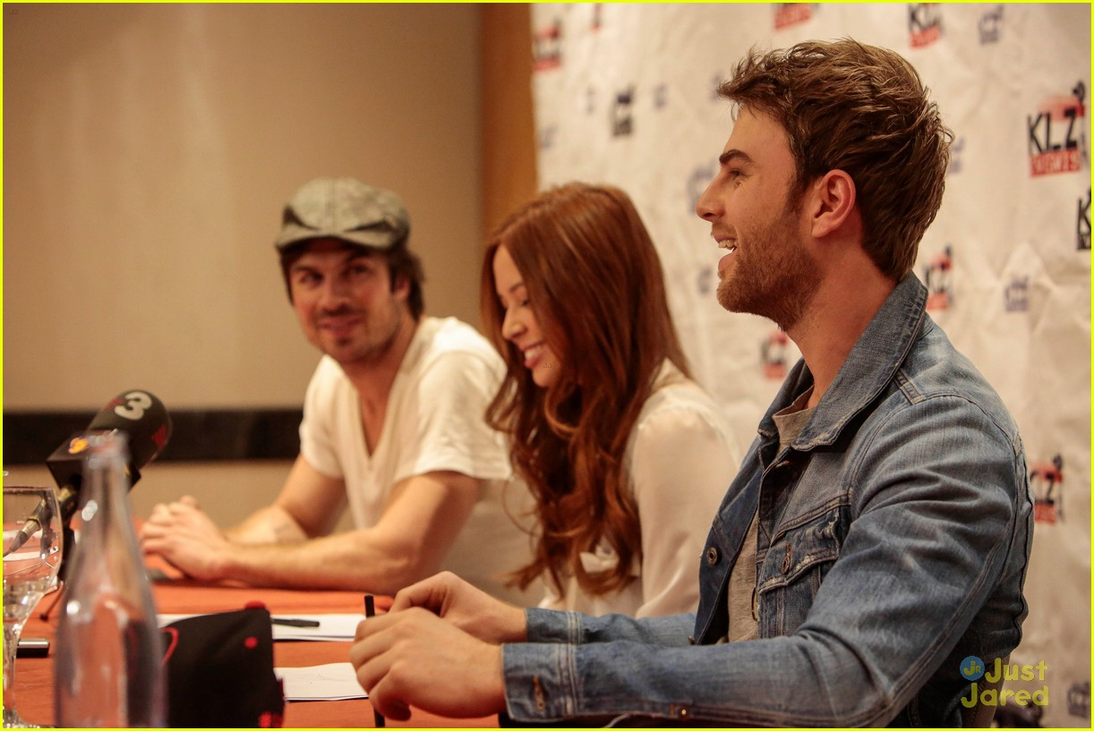 BloodyNight Con Barcelona May 2014 Ian Somerhalder, Malese ...