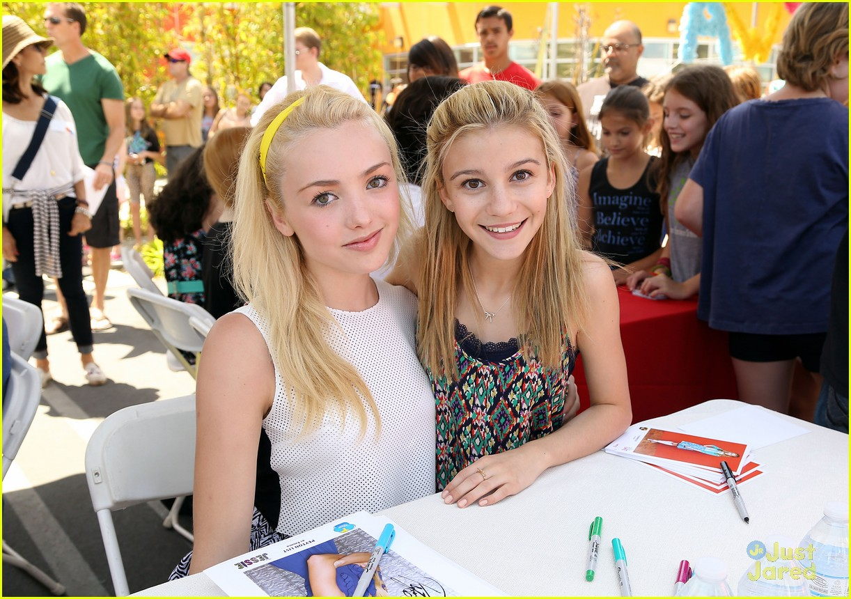 G Hannelius Hosts Art In The Afternoon With Peyton List More