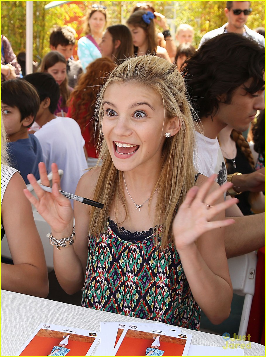 G Hannelius Hosts Art In The Afternoon With Peyton List
