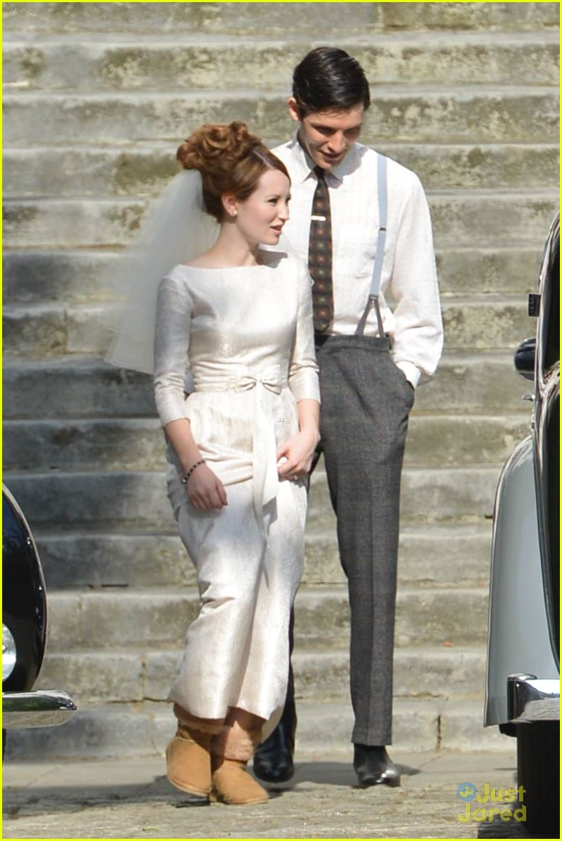 Emily Browning Makes A Beautiful Bride For Tom Hardy