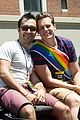 jonathan groff grand marshall nyc gay pride parade 01