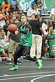 justin bieber chris brown bet celeb basketball game 07