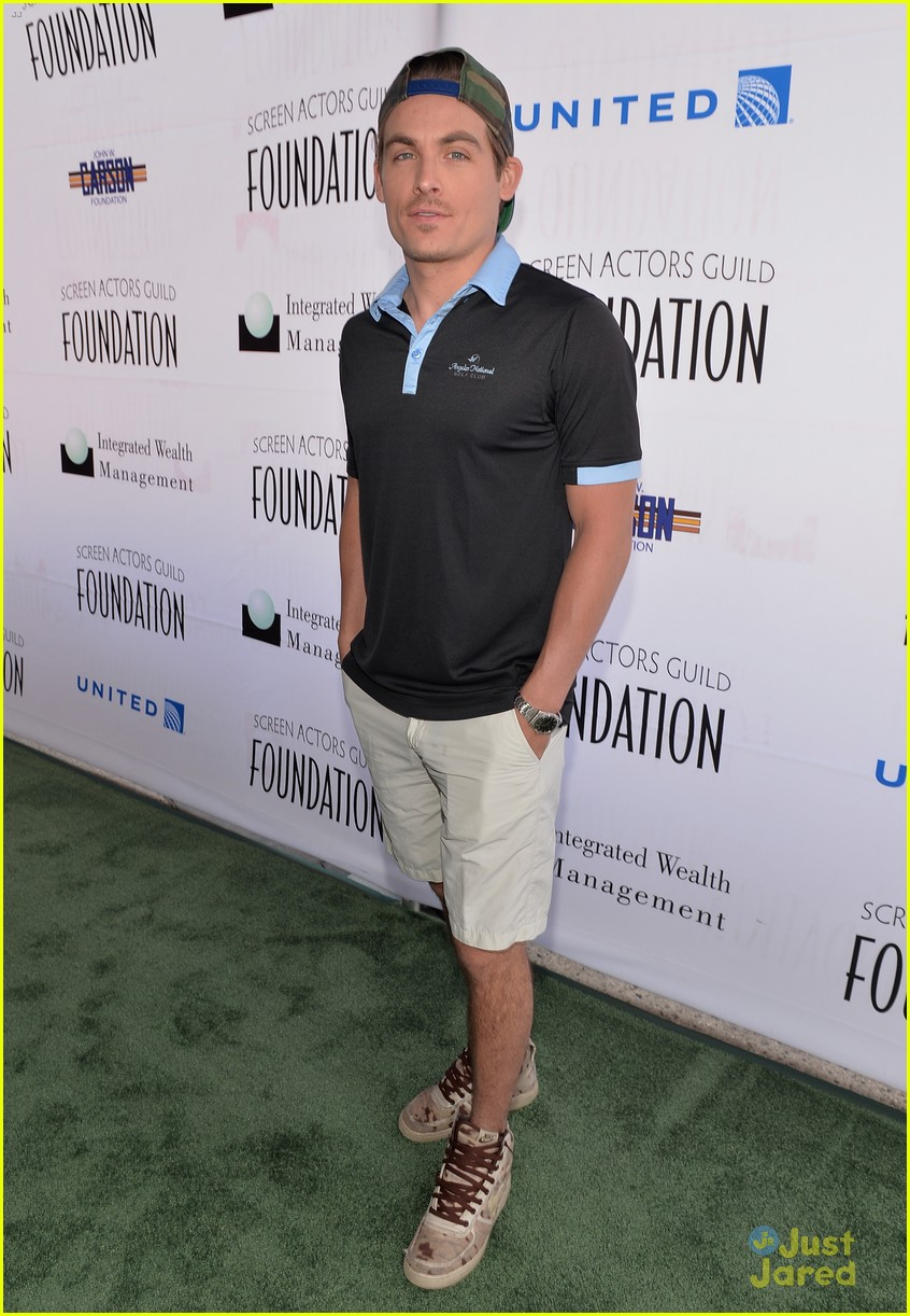 kevin zegers actors fore actors golf classic 2014 01