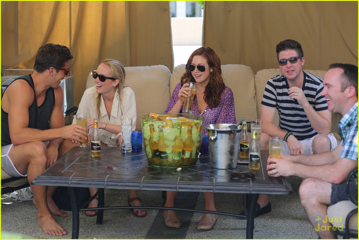 anna camp glamping brittany snow vegas 09