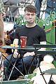 daniel radcliffe dog walker trainwreck nyc set 02