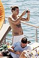harry styles shirtless ponytail pool italy 05