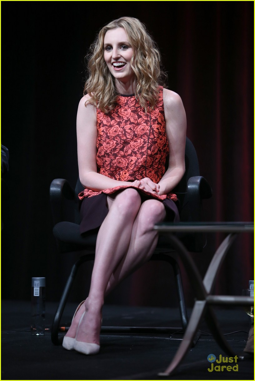 laura carmichael downton abbey tca panel 15