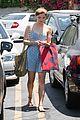 stefanie scott deep red hair shopping 07