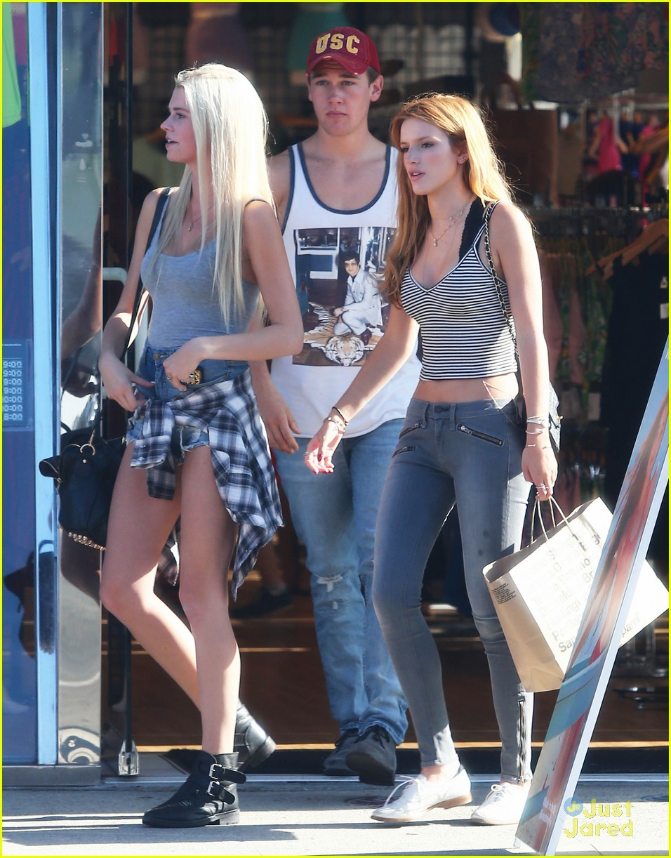 bella thorne shops melrose mcm sam smith 05