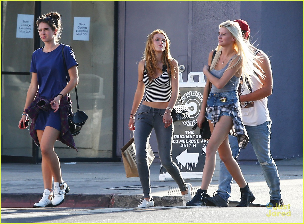 bella thorne shops melrose mcm sam smith 06