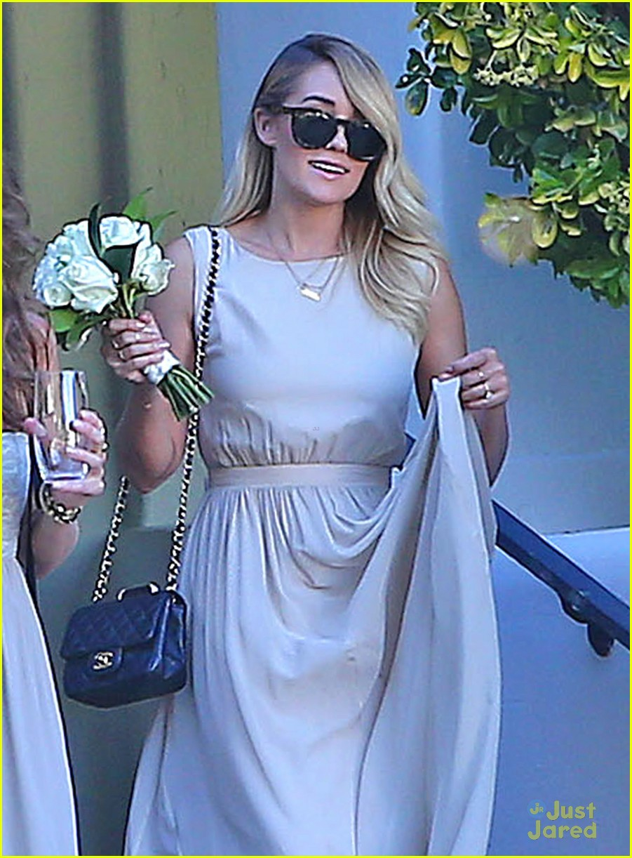 Lauren Conrad Gets Some Wedding Practice As A Bridesmaid At A Friend S Wedding Photo 707786 Lauren Conrad Lo Bosworth Pictures Just Jared Jr