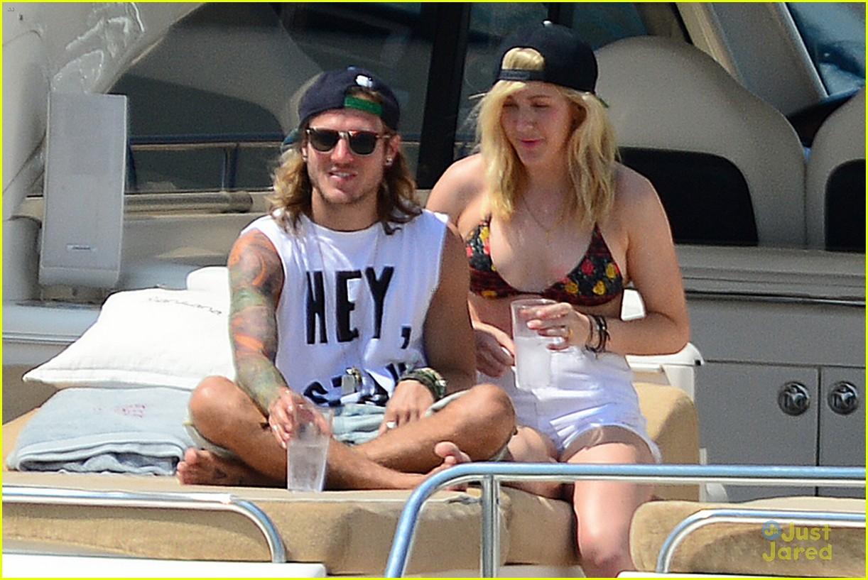 ellie goulding dougie poynter bikini vacation ibiza 26
