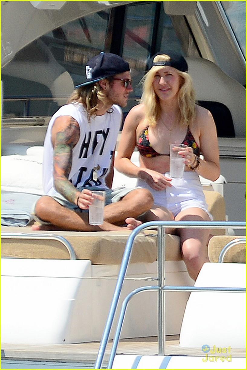 ellie goulding dougie poynter bikini vacation ibiza 31