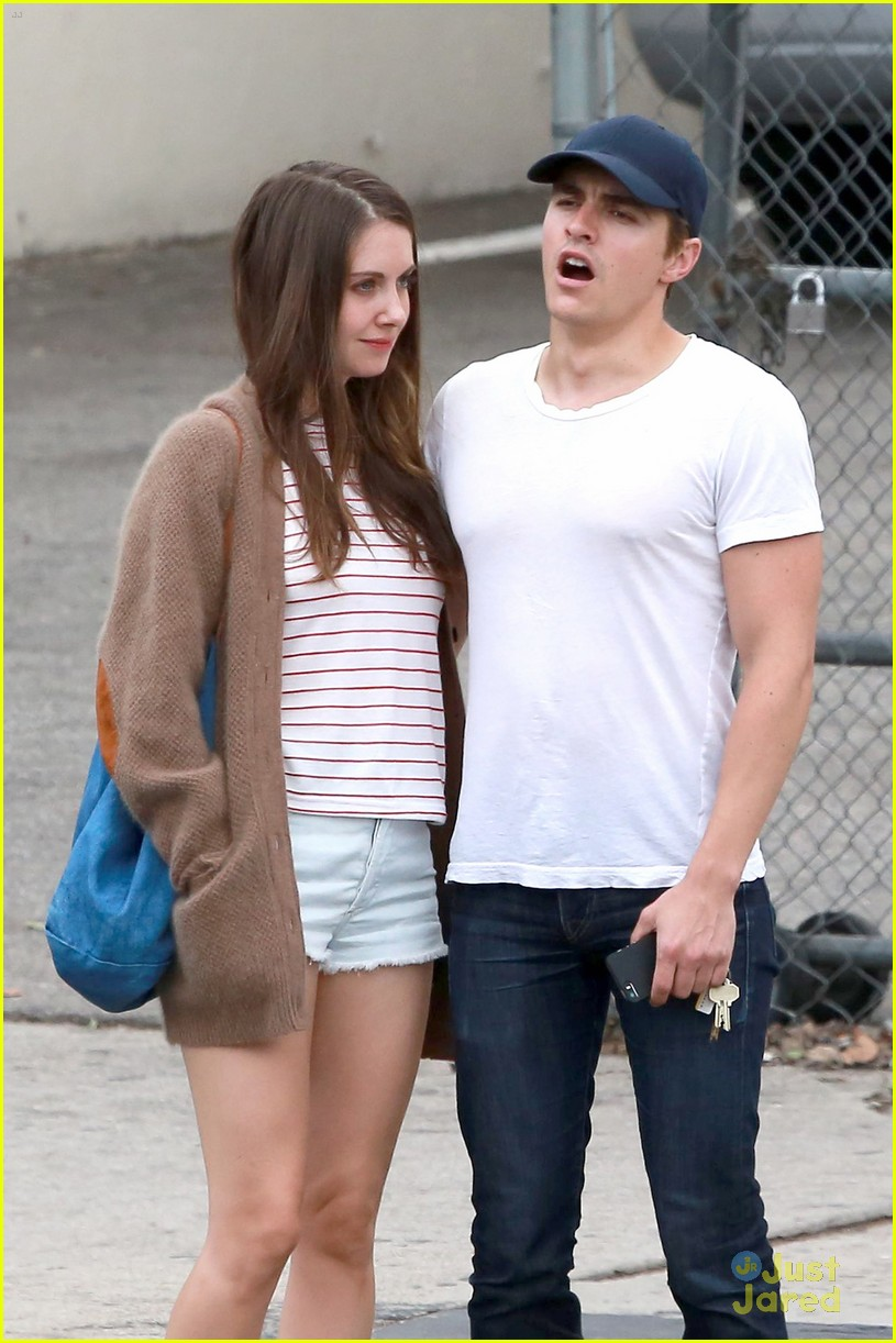 Dave Franco & Alison Brie Keep it Cute By Holding Hands ...