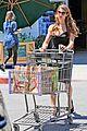ashley greene dresses up grocery shopping 06