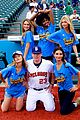 gigi hadid sports illustrated baseball game 17