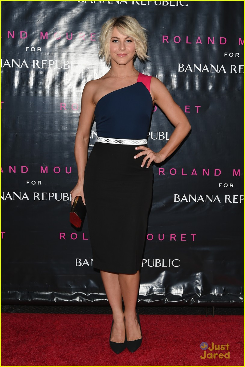 julianne hough roland mouret banana republic launch 01