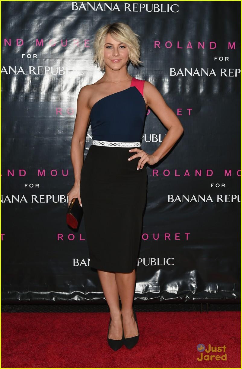 julianne hough roland mouret banana republic launch 07