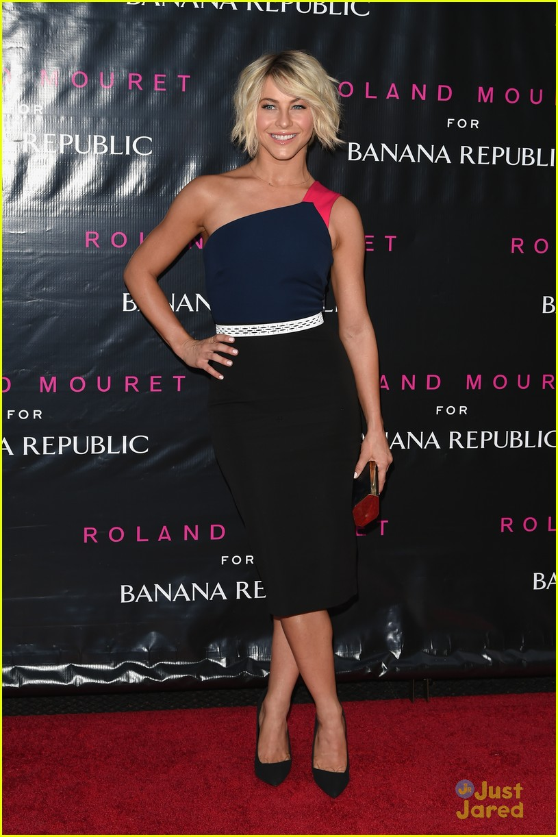 julianne hough roland mouret banana republic launch 08