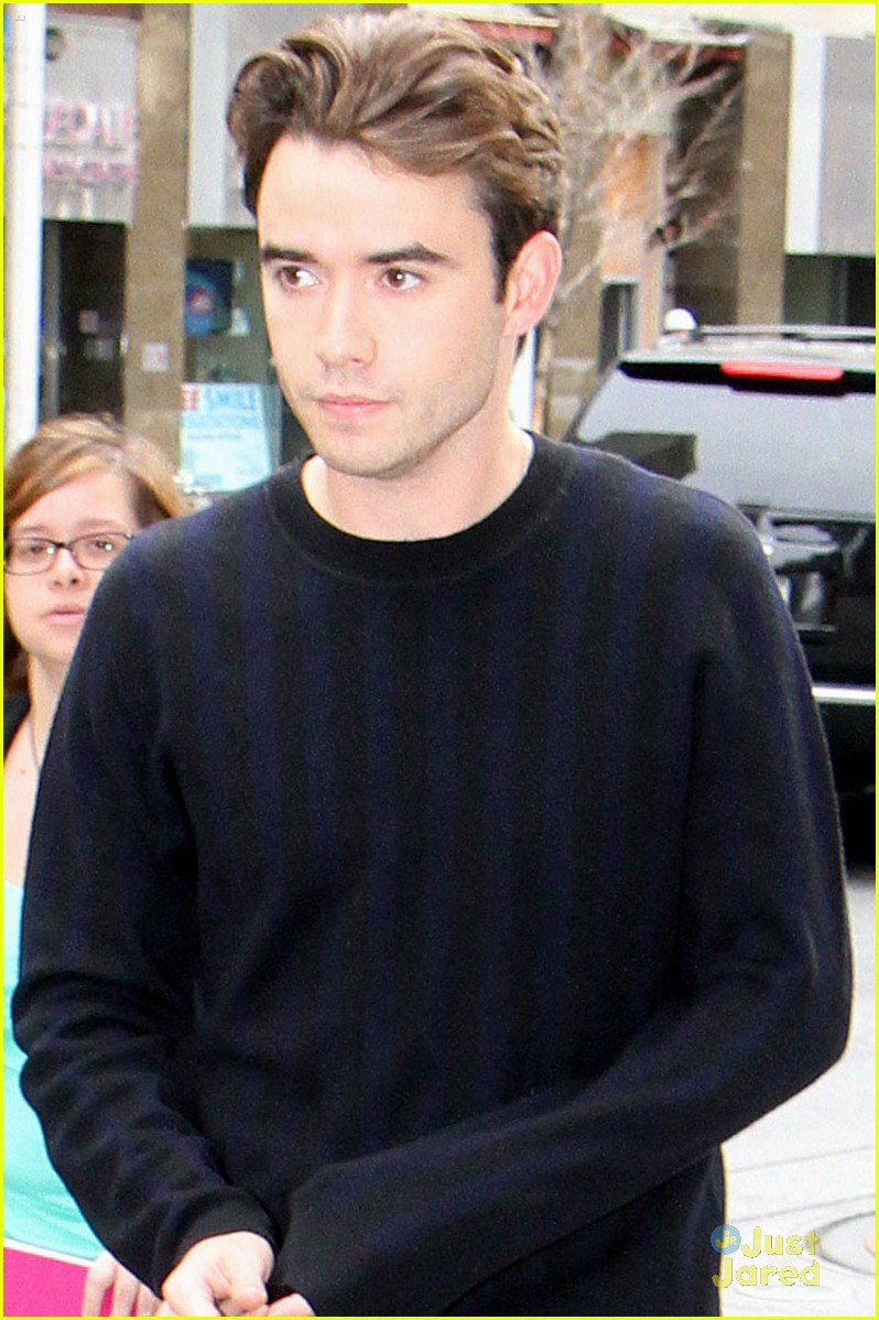 Jamie Blackley Premieres New Movie If I Stay In Toronto With