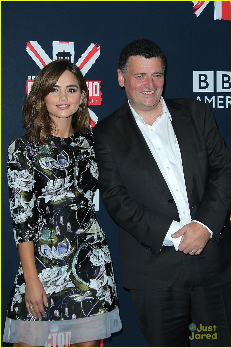 jenna coleman peter capaldi dr who fan screening nyc 10
