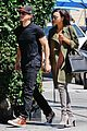 naya rivera ryan dorsey hold hands birds cafe 13