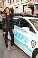 nina dobrev promotes lets be cops all over new york 18