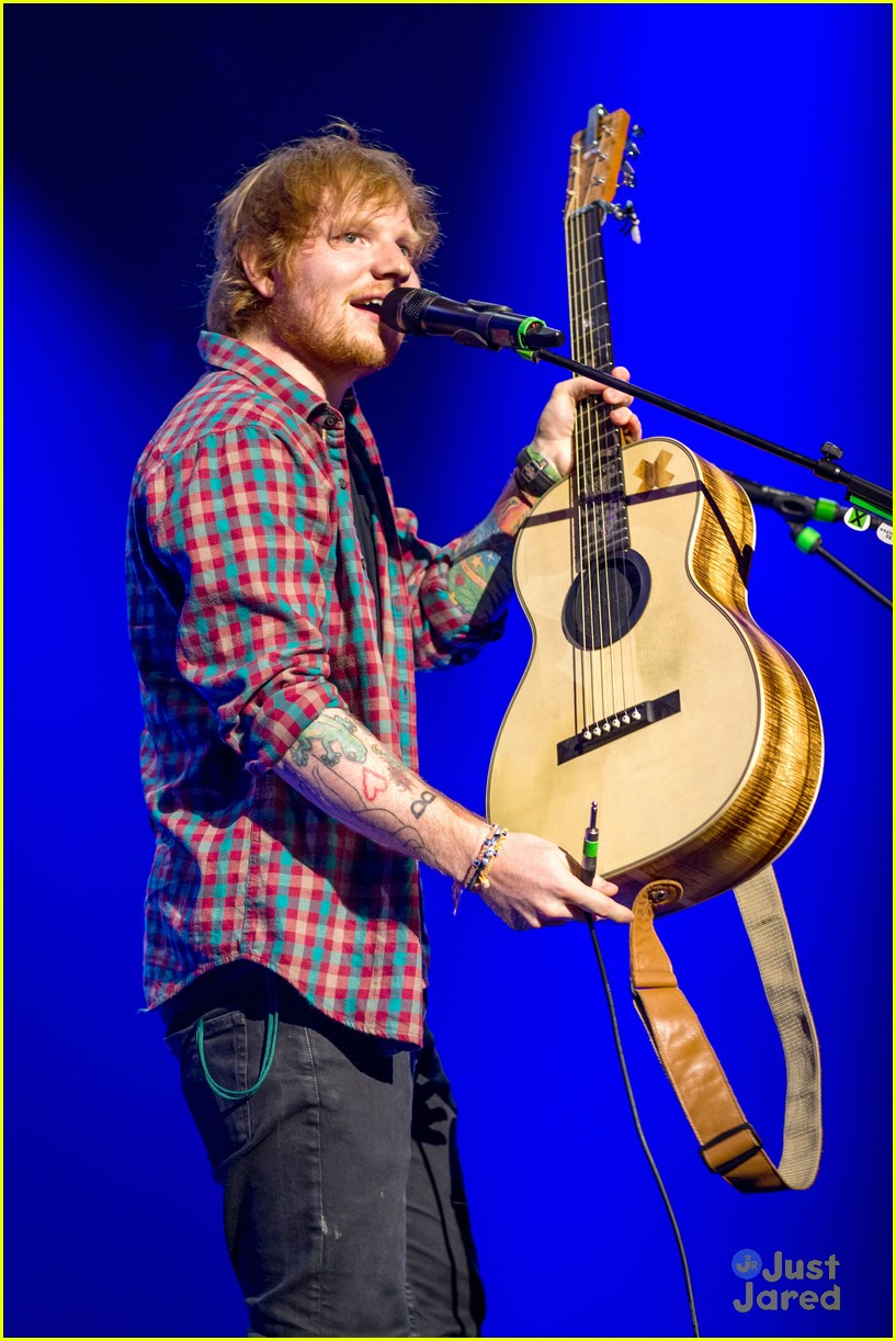 ed sheeran las vegas performance 05