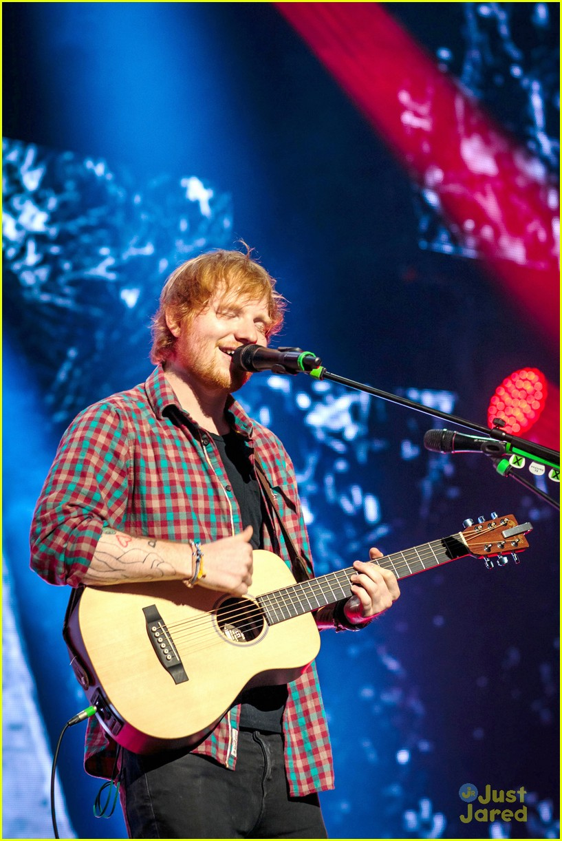 ed sheeran las vegas performance 07