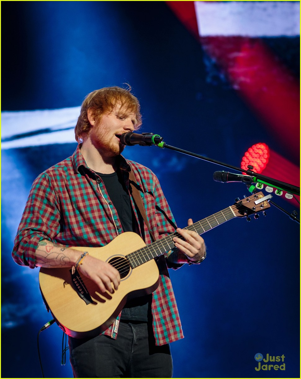ed sheeran las vegas performance 24