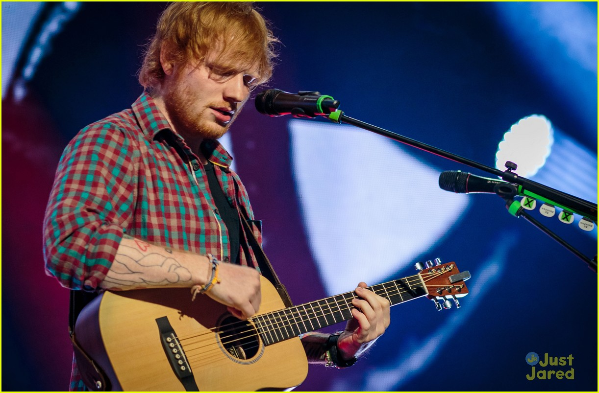 ed sheeran las vegas performance 25