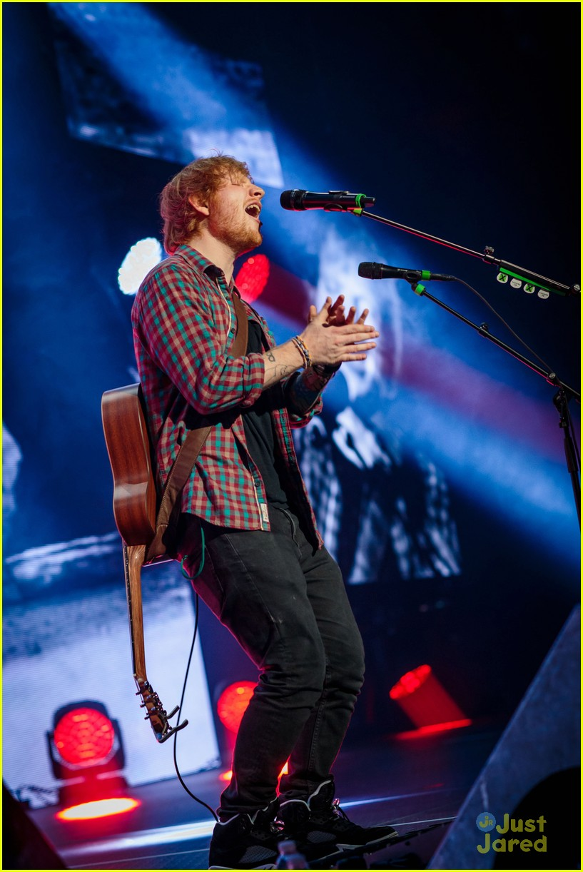 ed sheeran las vegas performance 26