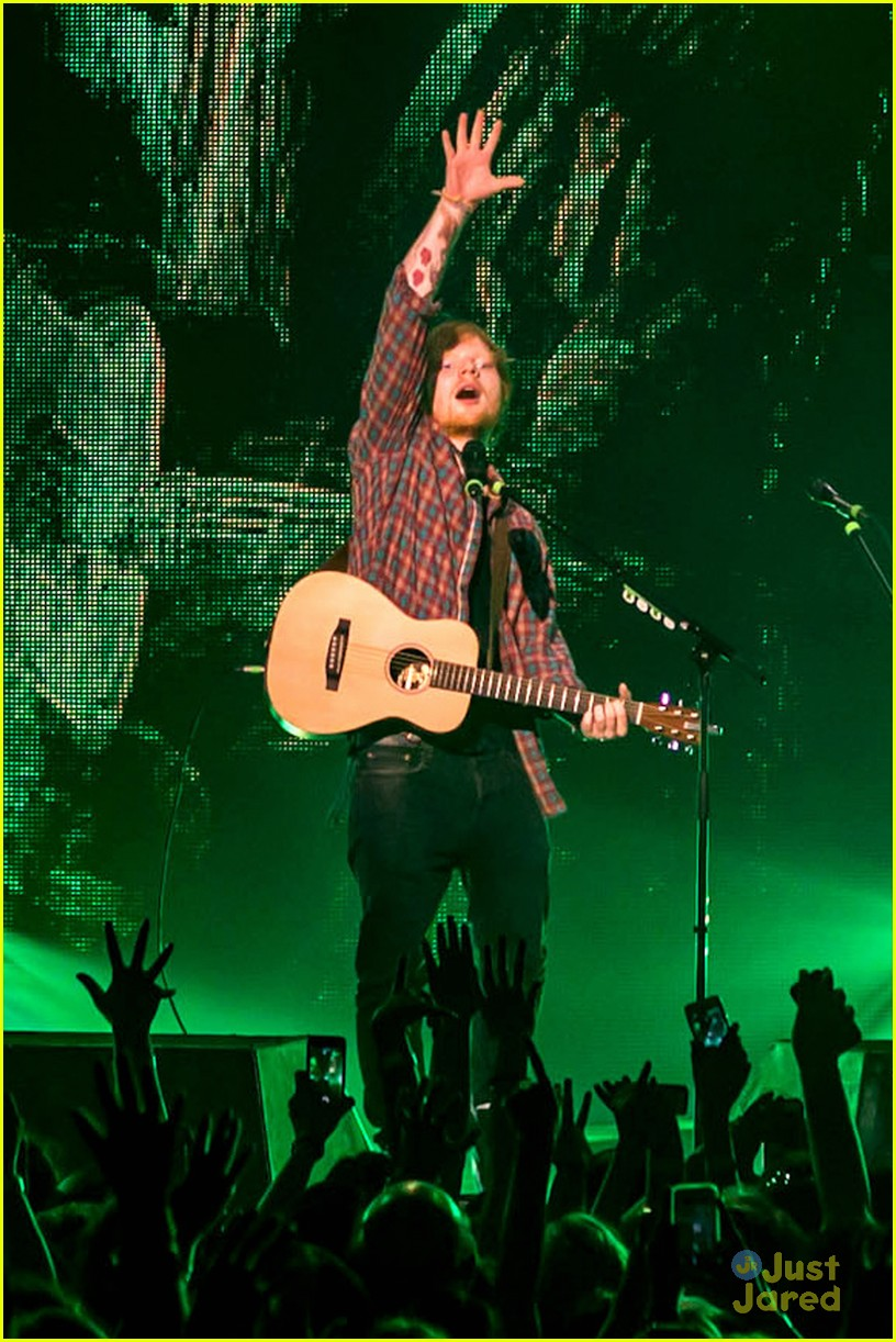 ed sheeran las vegas performance 27