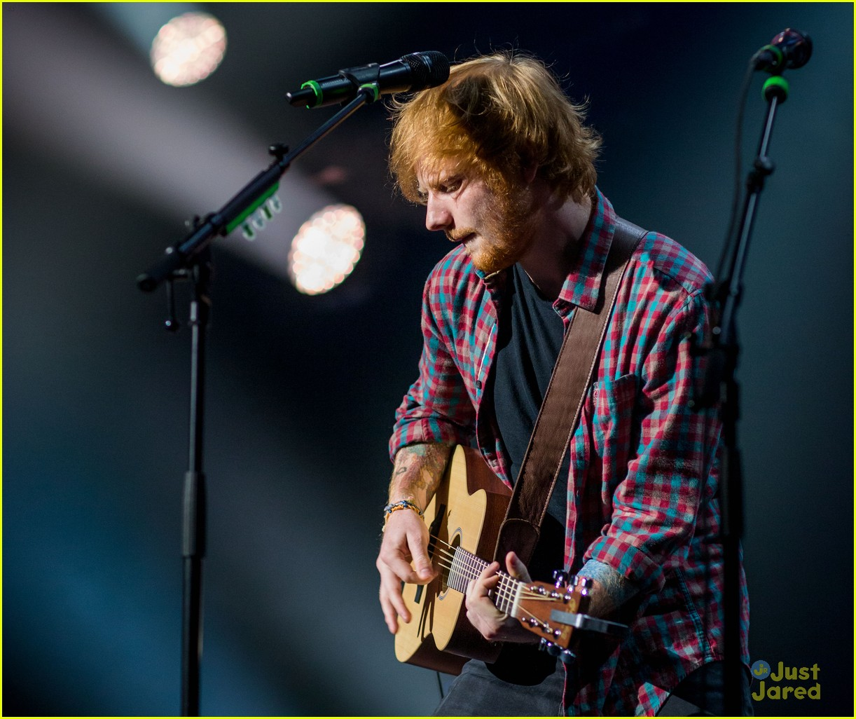 ed sheeran las vegas performance 31