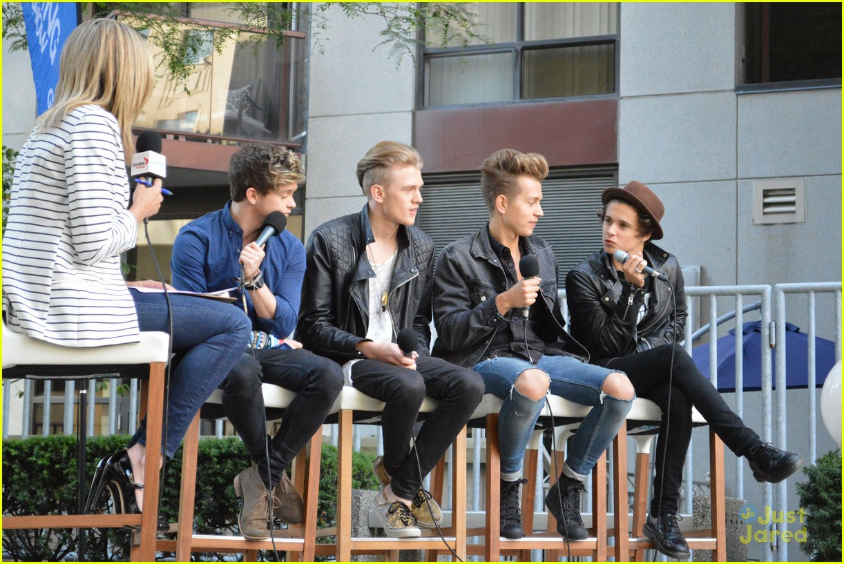 the vamps global morning show toronto 02